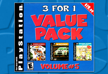 PSX PlaySTation Tommo 3 For 1 Value Pack Volume #5