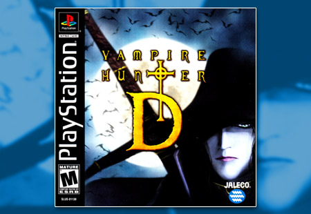 PSX PlayStation Vampire Hunter D