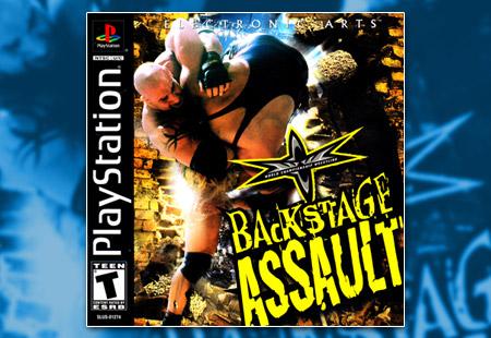 PSX PlayStation WCW Backstage Assault