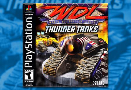 PSX PlayStation WDL World Destruction League - Thunder Tanks