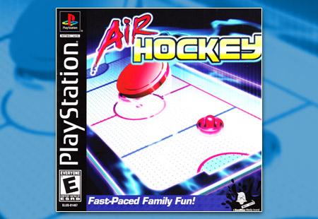 PSX PlayStation Air Hockey