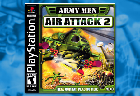 PSX PlayStation Army Men - Air Attack 2