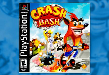 PSX PlayStation Crash Bash