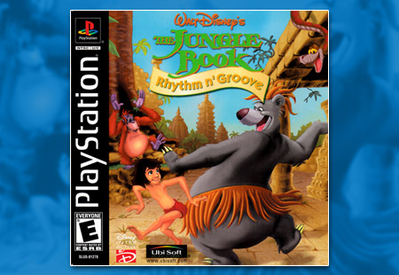PSX PlayStation Disney's The Jungle Book - Rhythm n' Groove