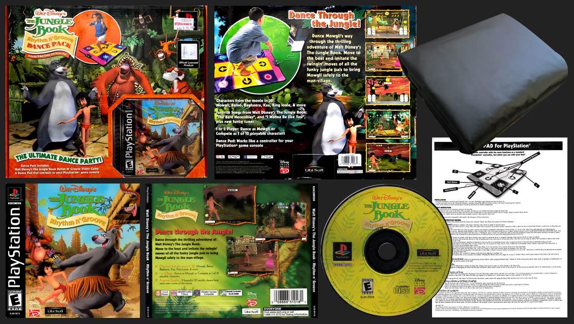 PSX PlayStation Disney's The Jungle Book - Rhythm n' Groove