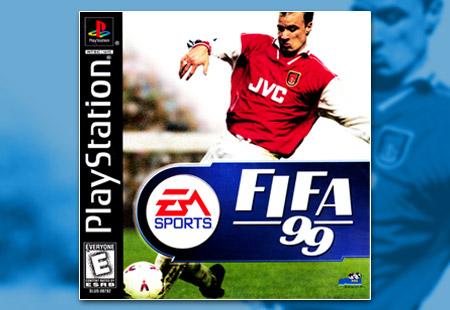 PSX PlayStation FIFA Soccer 99