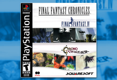 PSX PlayStation Final Fantasy Chronicles