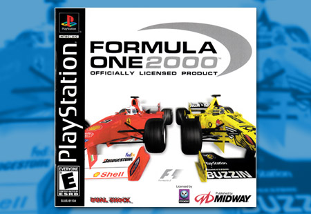 PSX PlayStation Formula One 2000