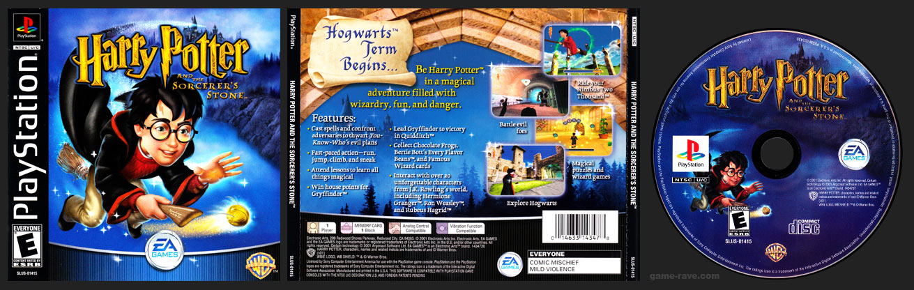 PSX PlayStation Harry Potter and the Sorcerer's Stone