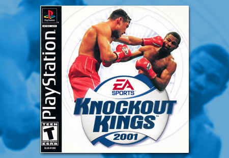 PSX PlayStation Knockout Kings 2001