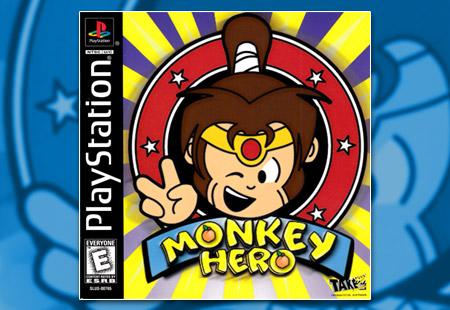 PSX PlayStation Monkey Hero