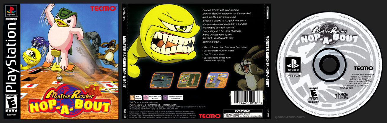 PSX PlayStation Monster Rancher Hop-A-Bout