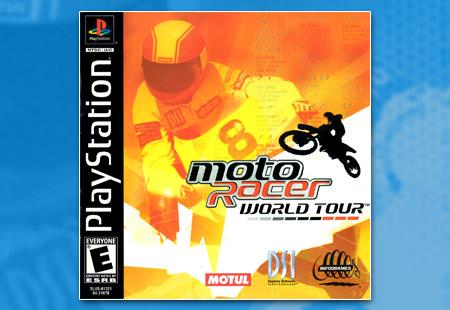 PSX PlayStation Moto Racer World Tour
