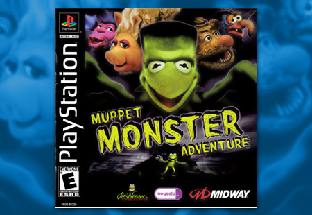 PSX PlayStation Muppet Monster Adventure