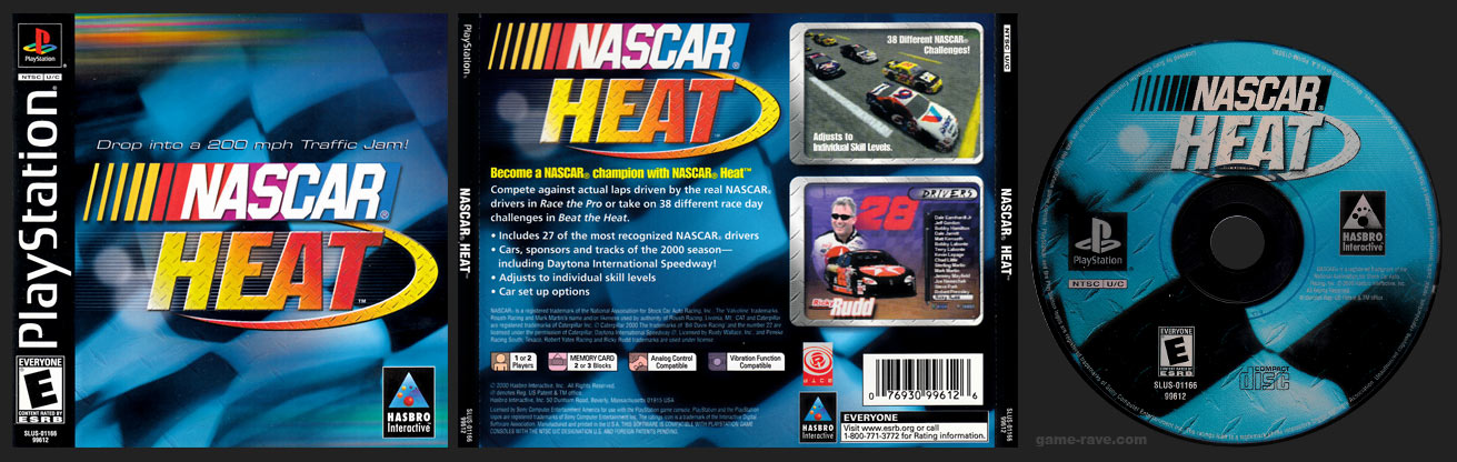 PSX PlayStation NASCAR Heat