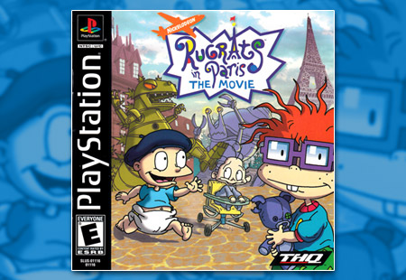 PSX PlayStation Rugrats in Paris: The Movie