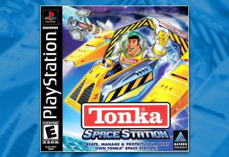 PSX PlayStation Tonka Space Station