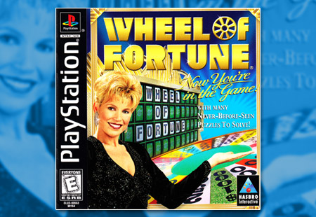 PSX PlayStation Wheel of Fortune
