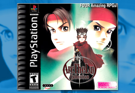 PSX PlayStation Arc The Lad Collection