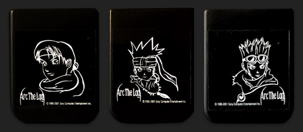 PSX PlayStation Arc the Lad Collection Memory Card Variants