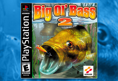 PSX PlayStation Big Ol' Bass 2