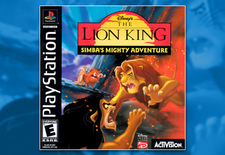 PSX PlayStation Disney's The Lion King: Simba's Mighty Adventure