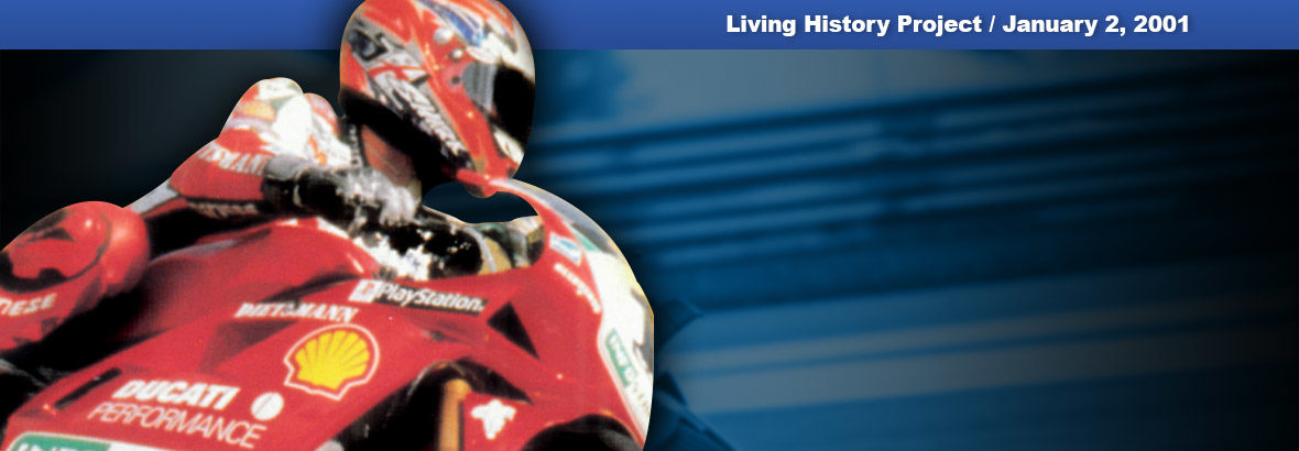 Jan. 2, 2001 First release: Ducati World Racing Challenge