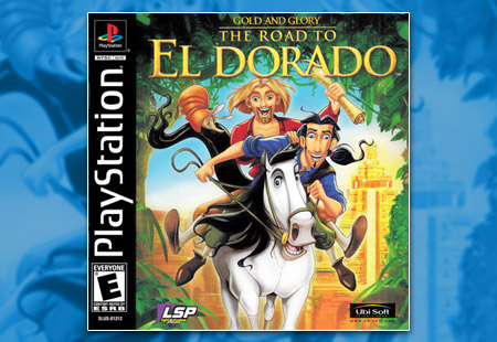 PSX PlayStation Gold and Glory: The Road to El Dorado