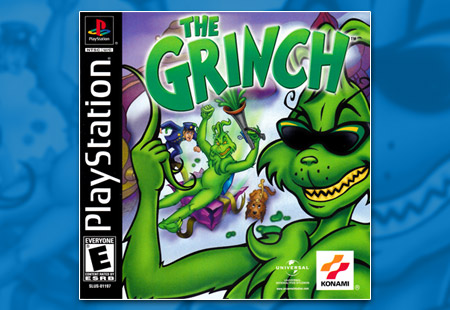 PSX PlayStation The Grinch