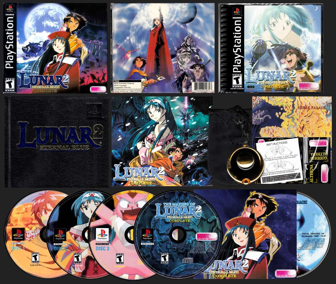PSX PlayStation Lunar 2: Eternal Blue Variant A Collector's Edition