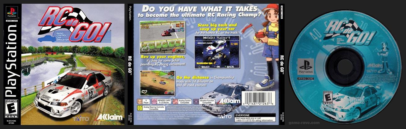PSX PlayStation RC de Go! Black Label Retail Release