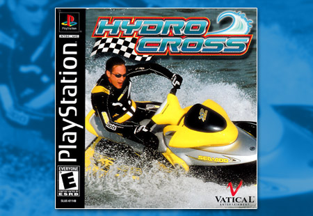 PSX PlayStation Sea-Doo Hydrocross