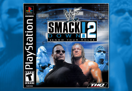 PSX PlayStation WWF SMackdown! 2: Know Your Role
