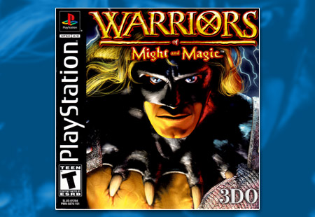 PSX PlayStation Warriors of Might and Magic