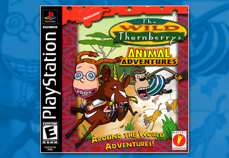 PSX PlayStation The Wild Thornberrys - Animal Adventures