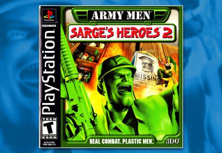 PSX PlayStation Army Men - Sarge's Heroes 2