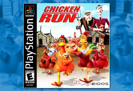 PSX PlayStation Chicken Run