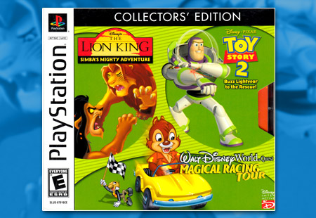 PSX PlayStation Disney's Collectors' Edition - Kids