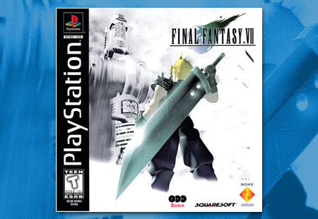 PSX PlayStation Final Fantasy VII