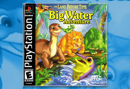 PSX PlayStation The Land Before Time: Big Water Adventure