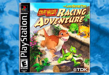 PSX PlayStation The Land Before Time: Great Valley Racing Adventure