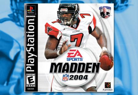 PSX PlaySTation Madden NFL 2004