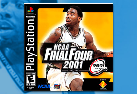 PSX PlayStation NCAA Final Four 2001