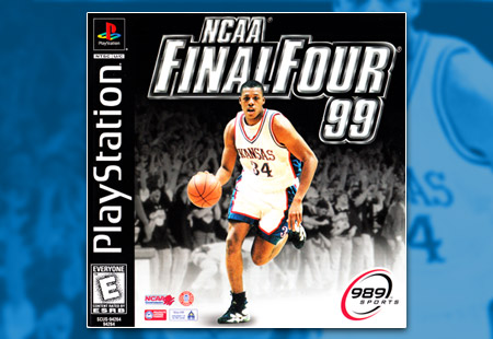 PSX PlayStation NCAA Final Four 99