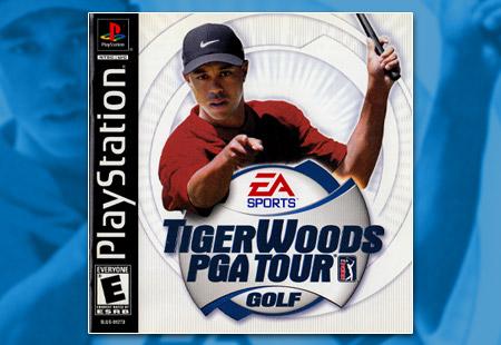 PSX PlayStation Tiger Woods PGA Tour Golf (2001)