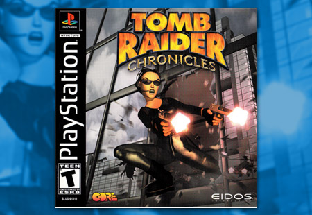 PSX PlayStation Tomb Raider: Chronicles