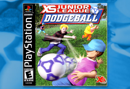 PSX PlayStation XS Junior League Dodgeball