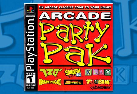 PSX PlayStation Arcade Party Pak