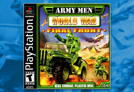 PSX PlayStation Army Men: World War - Final Front