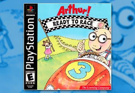 PSX PlayStation Arthur! Ready To Race
